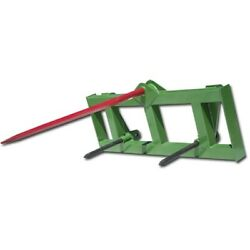 Titan Hd Global Euro 49 Hay Spear And 2 Stabilizers Fit John Deere Tractor Loader