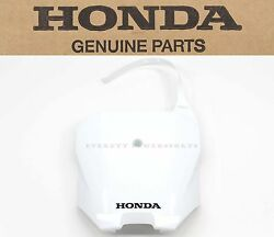 Front Number Plate Xr Crf 70 80 100 R F Oem Genuine Honda See Notes Q102