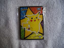 1998 Topps Pokemon The First Movie Animated Sticker Set Of 18 Cards