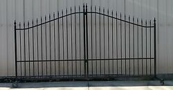 Custom Built Driveway Entry Gate 11ft Wd Single Swing Fencing Residential