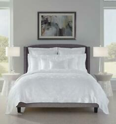 Italy Sferra Giza 45 Egyptian Cotton Jacquard Duvet Cover With Floral Pattern