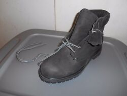 Nos Oand039neal Oneal Amputee Size 10 Black Leather Left Hi Boot 44573
