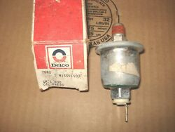 Oil Pressure Sensor, Nos 15591103. 82-91 Buick/cadillac/camaro/chevy/olds, More