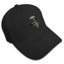 DISC GOLF Embroidery Embroidered Adjustable Hat Baseball Cap