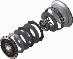 XTREME TRIPLE PLATE CARBON CLUTCH FIT MAZDA RX7 SERIES 67 FD3S