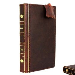 Genuine Retro Leather Case For Apple Iphone 6s Plus Book Wallet Cover Bible Il