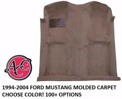 Acc 1994-04 Ford Mustang Molded Carpet Kit Pick Color Black Red Blue Boss Shelby