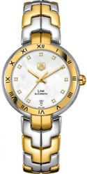 Wat2351.bb0957 | Brand New Tag Heuer Link Gold And Steel Automatic Womenand039s Watch