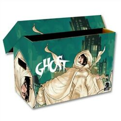 10 Bcw Short Cardboard Comic Book Storage Boxes With Ghost Art Design Box