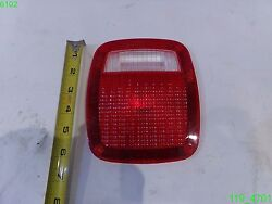 Lot Of 70 Trailer Tail Light Lens Cover 6-5/8 X 5-5/8 With 4 Screw Holes- New