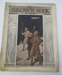 Dec 1902 The BROWN BOOK OF BOSTON Christmas Number