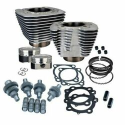 Sands Ss Cycle Silver Big Bore Hooligan Kit 1200cc Harley Sportster 00-2020 Xl 883