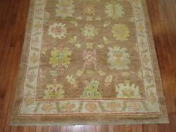Modern Turkish Oushak Ushak Rug Size 5and0392and039and039x6and03911and039and039