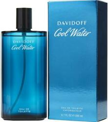 COOL WATER Cologne by Davidoff 6.7 oz 6.8 edt New in Box $24.71