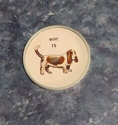 Humpty Dumpty Potato Chips Dogs # 15 Basset  coin