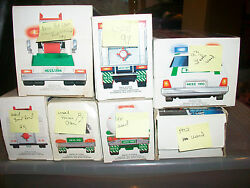Lot Of 4 Hess Trucks 1990- 1994 And97