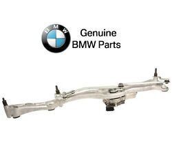 For Bmw E65 745i 760i E66 745li Front Windshield Wiper Linkage And Motor Assembly