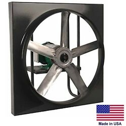24 Exhaust Fan - Direct Drive - 5182 Cfm - 1/3 Hp - 230/460 Volts - 3 Phase