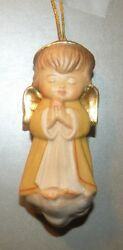 New Yellow Angel On The Cloud, 10206-ge, Wood Figurine From Lepi, Italy