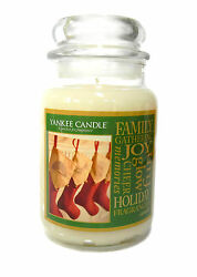 Yankee Jar Candle Holiday Glow 22 oz New