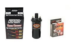 Pertronix Ignitor With Coil And Plug Wires New Mopar 1381a/40011 1960-1972