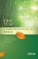 The One Year Chronological Bible Niv By Tyndale English Paperback Book Free Sh