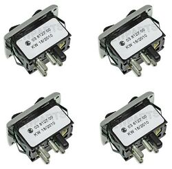 For Mercedes 220 250 450SL Kit of 4 OEM Replacement Window Switches 0018215951