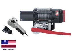 Winch - Heavy Duty - 12 Volt Dc - 1.5 Hp - 4000 Lb Cap 55 Ft Of 7/32 Wire Rope