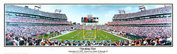 Tennessee Titans Opening Game 1999 Adelphia Coliseum Panoramic Poster Print