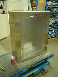 Hoffman Csd30248wss Stainless Enclosure W/ Large Window