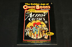 1977 The Golden Age Of Comic Books 1937-1945 By Richard Obrien Sc Vf