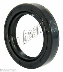 Oil And Grease Seal Tc 0.315x 0.63x 0.256 Rubber Covered Double Lip W/garter