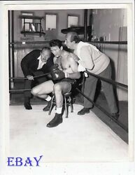 Jack Palance barechested boxer VINTAGE Photo Playhouse 90