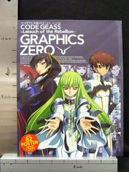 Code Geass Lelouch Character Illustration Book Graphics Zero W/poster 97