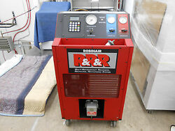 ROBINAIR 17800A MULTI-REFRIGERANT RECOVERY RECYCLING RECHARGING SYSTEM