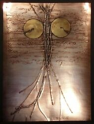 Sica Whistlingthistle Signed Numbered Collagraph Artwork Metallic Make Offer