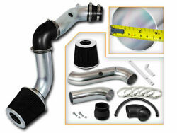 Cold Air Intake Kit + Black Dry Cone Filter For 04-08 Chevrolet Aveo 1.6l L4