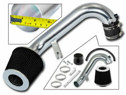 Sport Air Intake Kit + Black Cone Filter For 01-05 Civic Dx/lx/ex 1.7l
