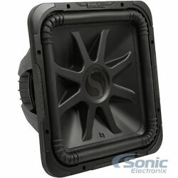 Kicker Solo-baric L7s 2000w 15 4 Ohm Car Sealed Or Ported Square Subwoofer Sub