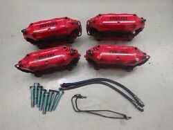 Ferrari 360 Modena Red Brembo Front Rear Brake Caliper Set J075
