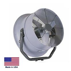 High Velocity Fan Industrial - Opt Mounting - 30 - 7900 Cfm - 1/2 Hp - 230/460v