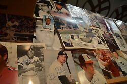 Huge Autographed Baseball Photo Collection 300+ Signed Photos Sgc Auth