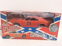 General Lee Dukes Of Hazzard Ertl American Muscle Model 1/18 1969 Dodge Charger