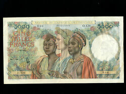French West Africap-435000 Francs1950 Rare Vf