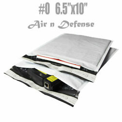 0 6.5x10 Poly Bubble Padded Envelopes Mailing Mailers Shipping Bags Airndefense