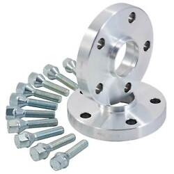 Ford KA ( 08 On ) RUB 16mm Hubcentric Alloy Wheel Spacers Kit 4x98  58.1mm