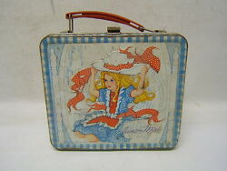 1973 Metal Junior Miss Lunchbox By Aladdin Free Shipping No Thermos