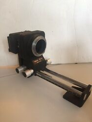 Nikon Pb 5 Bellows Focusing Attachment + Ps 5 Slide Copying From Japan