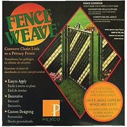 Fence Weave to Convert Chain Link to a Privacy Fence - Black 250 feet BESTSELLER