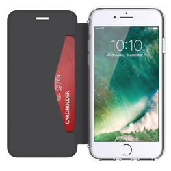 GRIFFIN REVEAL WALLET PROTECTIVE CASE COVER FOR IPHONE 7 6S6 - BLACKCLEAR